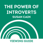 Viewing Guide TED Talks- Susan Cain: the Power of Introverts