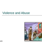 Violence and Abuse PowerPoint Presentation Lesson Plan