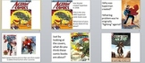 Visual Arts: Elementary Superhero Power Point Presentation