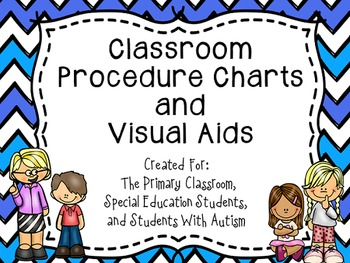 Visual Task Cards For Special Education Students Including