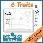 Visualize the 6 Traits of Writing as a House