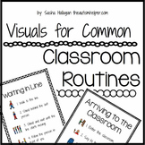 Visuals for Common Classroom Routines