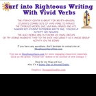 Vivid Verbs - Word Choice Writing/Literacy Center
