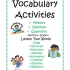 Vocabulary Centers2
