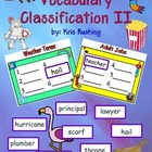 Vocabulary Classification II