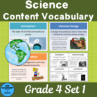 Vocabulary Development 30 Core Content Words Science Grade