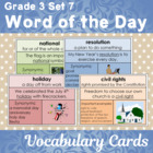Vocabulary Development Word of the Day Set 7