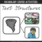 Vocabulary Fun: Text Structures {Game & Activity Pack}