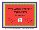 Vocabulary Building With Graphic Organizers