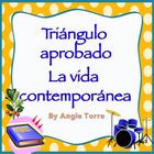 AP Spanish Vocabulary Practice for Triángulo Aprobado: La