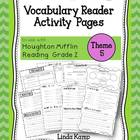 Vocabulary Reader Activities Houghton Mifflin Second Grade