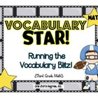 Vocabulary Star: Math Test Prep Goodies!