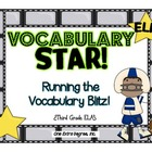 Vocabulary Star: Running the Vocabulary Test Prep Blitz!