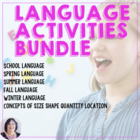 Vocabulary Super Bundle for Special Education_Autism_schoo
