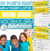 Vocabulary Voyage (Test Prep Vocabulary Year Long Activity)