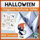 Vocalic R Halloween Fortunes for Speech Therapy