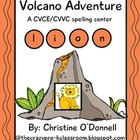 Volcano Adventure: CVCV & CVVC word work literacy center