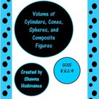 Volume of Cylinders, Cones, Spheres, and Composite Figures