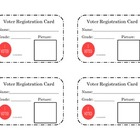 Voter Registration Cards *FREEBIE