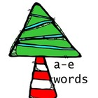 Vowel Consonant e Christmas-themed sorting activity