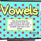 Vowel SMART BOARD Game