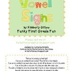 Vowel Signs Poster Set