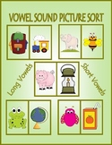 Vowel Sound Picture Sort