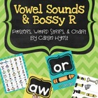 Vowel Sounds & Bossy R {Posters, Word Strips, & Chart}