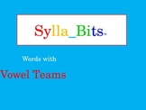 MAP Prep NWEA Reading Vowel Teams SyllaBits Fluency Buildi
