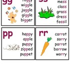 Vowel and Consonant Blends Flashcards/Posters
