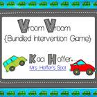 Vroom Vroom {Bundled Intervention Game}