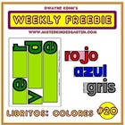 WEEKLY FREEBIE #20: Libritos Los Colores