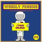 WEEKLY FREEBIE #8: Astronaut Story Holder