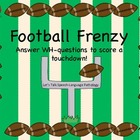 WH Questions - Football Frenzy