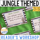 WILD About Reading: Jungle Themed Reader's Workshop Materials