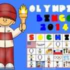 WINTER GAMES BINGO 2014