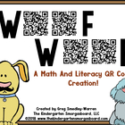 WOOF!  WOOF QR Code Mega Pack!  A Common Core Aligned Product!