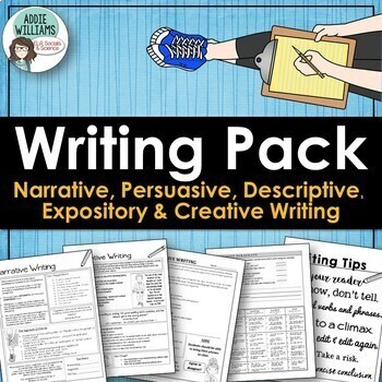 WRITING - Persuasive, Narrative, Expository & Descriptive