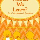 """Waddle"" We Learn?  Duck Information & Activities"