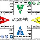Wahoo Word Game - CVCE words