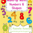Wake Up Work: Numbers & Shapes