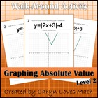 Walk Around Activity ~ Graphing Absolute Value Functions~
