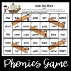 Walk the Plank--Long Vowel Games