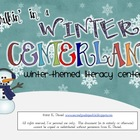 Walkin' in a Winter *Literacy* Centerland {Winter Centers