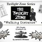 Walking Distance Twilight Zone Episode Unit Resource Common Core