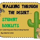 Walking Through the Desert: Student Booklets