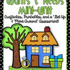 Wants and Needs Mini-Unit {Craftivities, Scavenger Hunt, a