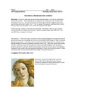 Was there a Renaissance for Women?  DBQ