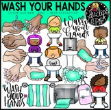 Wash Your Hands Clip Art Bundle