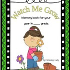 Watch Me Grow Memory Book